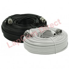 10m High Quality BNC Pre-Made Cables with Power