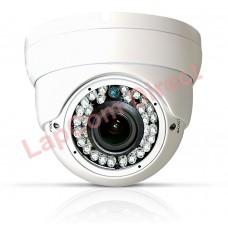 White AHD Eyeball Varifocal CCTV Camera
