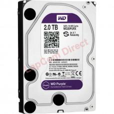 """2TB WD 3.5"""" SATA Surveillance Storage Hard Drive Purple WD20PURX"""