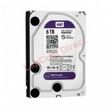 """6TB WD 3.5"""" SATA Surveillance Storage Hard Drive Purple WD60PURX"""